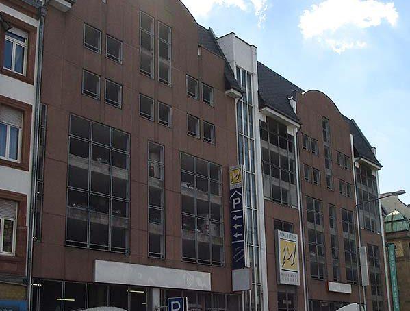 Fassade vor der Reinigung